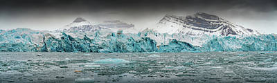 Photograph - Glacier Panorama by James Billings