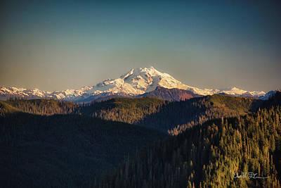 Photograph - Glacier Peak by Charlie Duncan