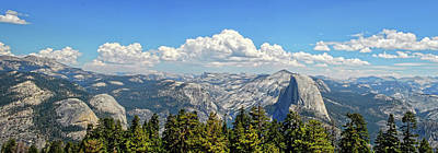 Photograph - Glacier Point Panorama by Lynn Bauer