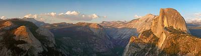 Glacier Point Panorama Art Print