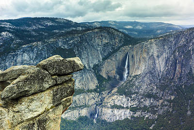 Photograph - Glacier Point Yosemite by Ben Graham