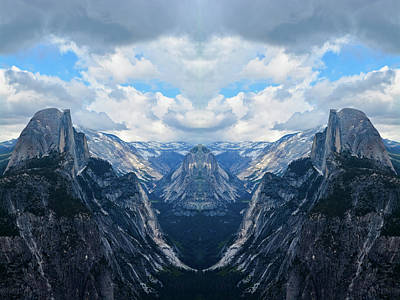 Photograph - Glacier Point Yosemite Mirror by Kyle Hanson