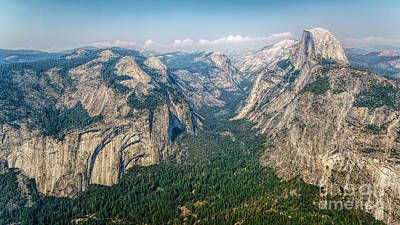 Glacier Point Yosemite Np Art Print