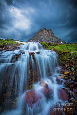 Clements Photograph - Glacier Storm by Inge Johnsson
