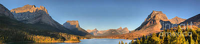 Photograph - Glacier Sun Point Panorama by Adam Jewell