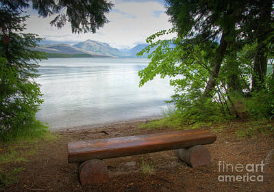 Photograph - Glacier View by Idaho Scenic Images Linda Lantzy