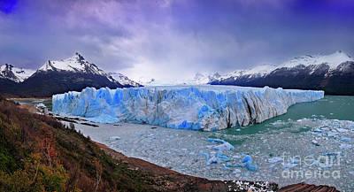 Photograph - Glacier Vii by Bernardo Galmarini