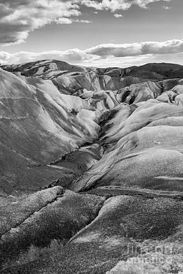 Photograph - Glacier Walk In Black And White by Stuart Gordon