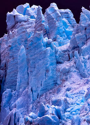 Photograph - Glacier Wall by Brian Stevens