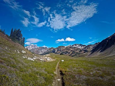 Photograph - Glacier Wilderness by Greg Sagan