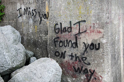 Photograph - Glad I Found You On The Way by Susan  McMenamin