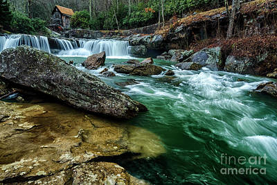 Photograph - Glade Creek And Grist Mill by Thomas R Fletcher