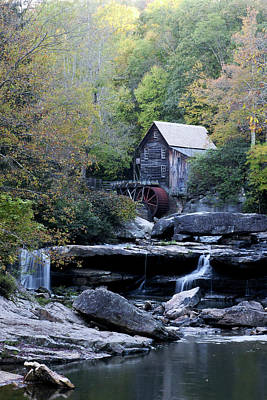 Photograph - Glade Creek Grist Mill 1 by Michelle Joseph-Long