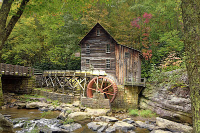 Photograph - Glade Creek Grist Mill 2 by Dan Myers