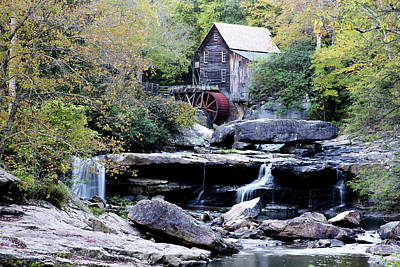 Photograph - Glade Creek Grist Mill 2 by Michelle Joseph-Long