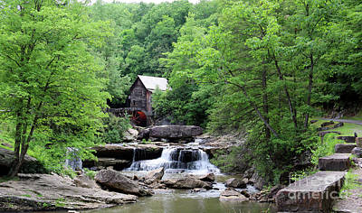 Photograph - Glade Creek Grist Mill 2465 by Jack Schultz