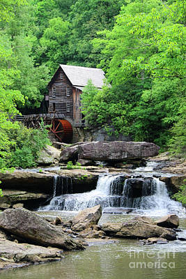 Photograph - Glade Creek Grist Mill 2469 by Jack Schultz