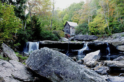 Photograph - Glade Creek Grist Mill 3 by Michelle Joseph-Long