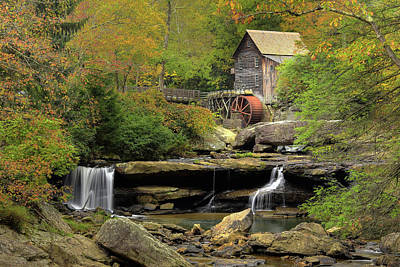 Photograph - Glade Creek Grist Mill by Dan Myers