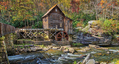 Photograph - Glade Creek Grist Mill by Jane Luxton