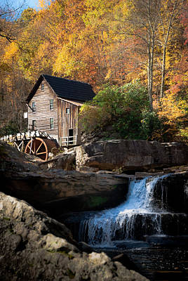 Photograph - Glade Creek Grist Mill by Jeanne Sheridan