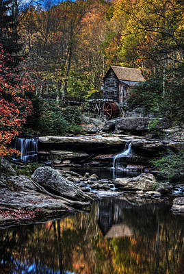 Photograph - Glade Creek Grist Mill by Ken Smith