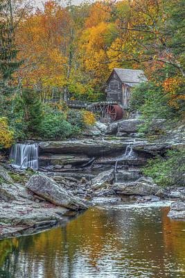 Grist Mill Photograph - Glade Creek Grist Mill by Tom Weisbrook
