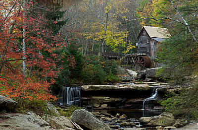 Photograph - Glade Creek Mill by Jonas Wingfield