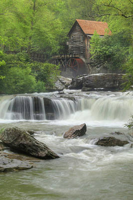 Photograph - Glade Creek Portrait by Lori Deiter