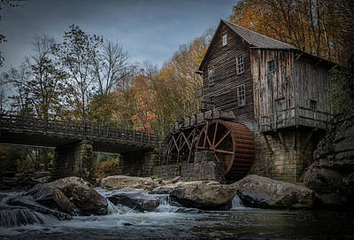 Photograph - Glade Creek Water Wheel by Jonas Wingfield