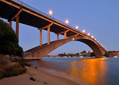 Photograph - Gladesville Bridge by Nicholas Blackwell