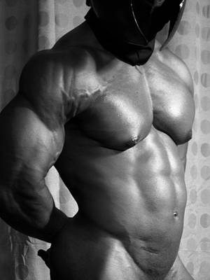Photograph - Gladiator Muscle by Jake Hartz