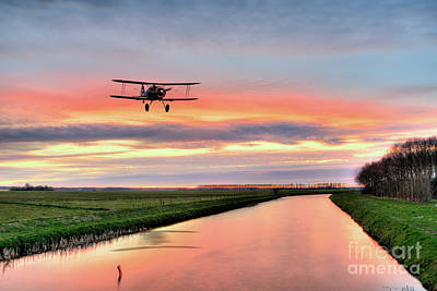 Bi Plane Digital Art - Gladiator Returns by J Biggadike