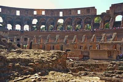Photograph - Gladiatorial Contests by JAMART Photography