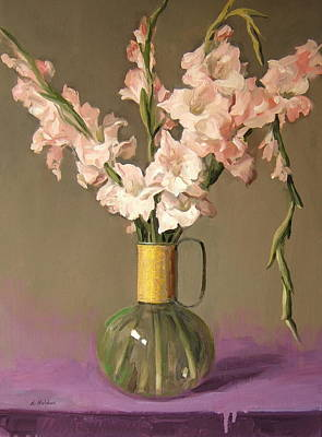 Painting - Wayward Gladiolus by Robert Holden