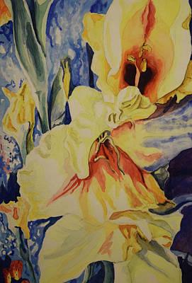 Painting - Gladiolus by Emily Maynard