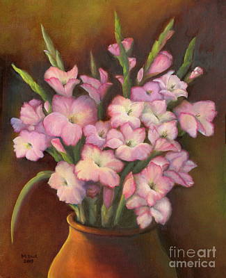 Painting - Glads by Marlene Book
