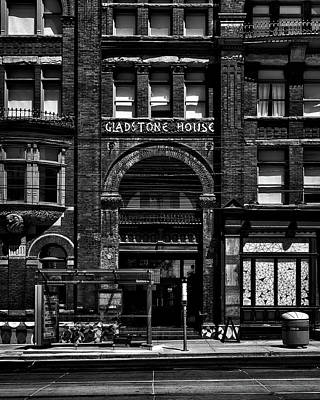 Art Print featuring the photograph Gladstone Hotel Toronto Canada No 1 by Brian Carson