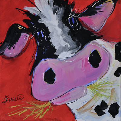 Painting - Gladys by Terri Einer