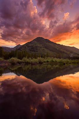 Photograph - Glamor In The Sky by Michael Blanchette