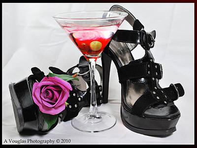 Photograph - Glamour Nights by Amanda Vouglas