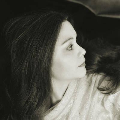 Digital Art - Glamour Portrait by Scott Kingery