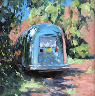 Painting - Glamping In Dappled Light by Elizabeth Jose