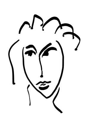 Drawing - Glance by Bill Owen