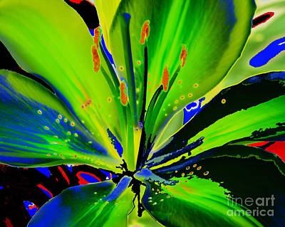 Diane Berry Painting - Glas by Diane E Berry