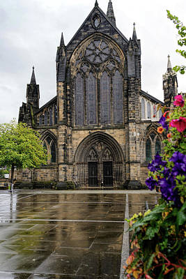 Photograph - Glasgow Cathedral by Elvis Vaughn