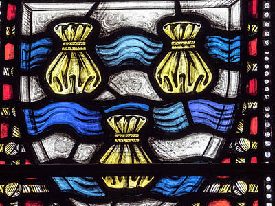 Photograph - Glasgow Cathedral Stained Glass by Jean Noren