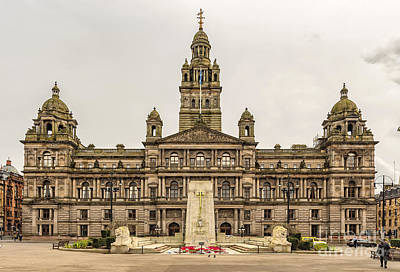 Featured Tapestry Designs - Glasgow City Chambers by Antony McAulay
