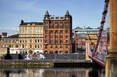 Photograph - Glasgow by Jeremy Lavender Photography