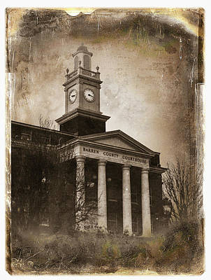 Glasgow Ky Courthouse Art Print